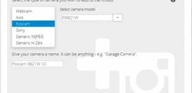 Foscam Add Camera
