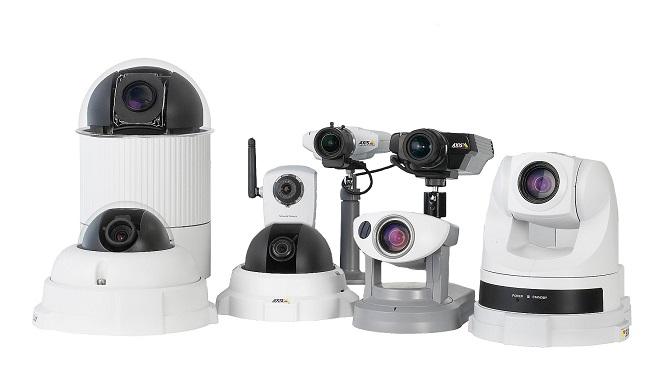 Axis IP camera setup