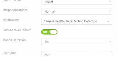 Camcloud camera health check