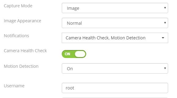 Camcloud camera health check