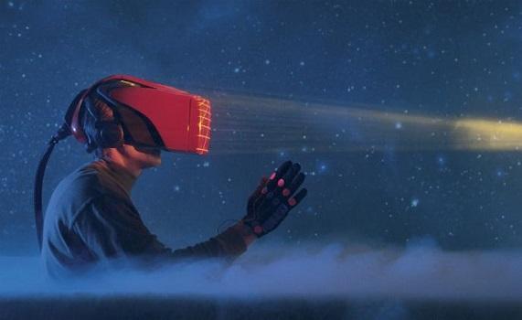video surveillance and virtual reality